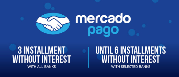 Pay up to 3 installments