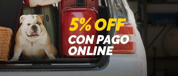 5% de Descuento con Pago Online desde la web!